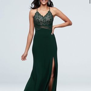 David bridal evening gown